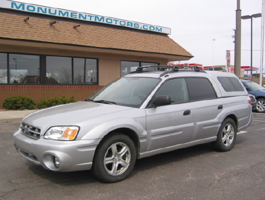 2003 subaru baja sport pickup 10 06 11 vergatos. Black Bedroom Furniture Sets. Home Design Ideas