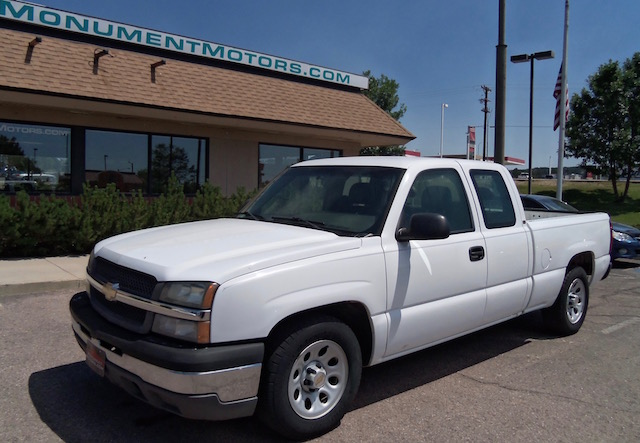 2005 chevy silverado 1500 ext cab 4x2 pup. Black Bedroom Furniture Sets. Home Design Ideas